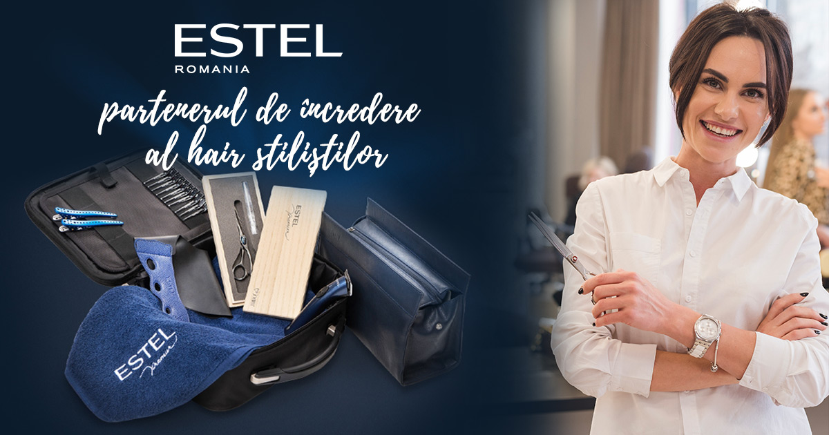 Inregistrare Hair Stilist sau Salon partener ESTEL Romania